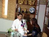 章志斌老师接受上海生活时尚栏目采访